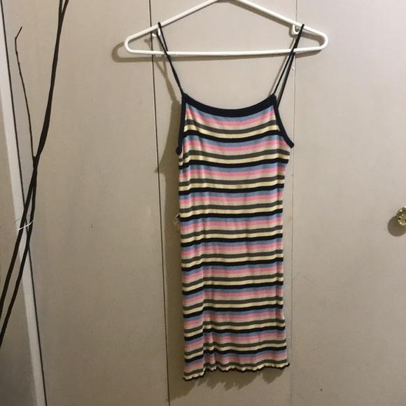 Thin strap, mini dress